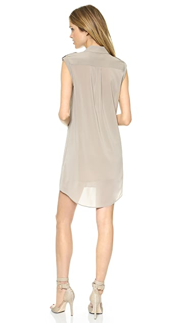 alice + olivia Carol Button Down Dress