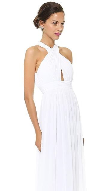 alice + olivia Jaelyn Flare Dress