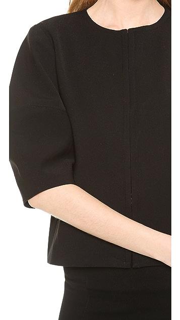 alice + olivia Dani Cropped Jacket