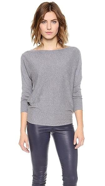 alice + olivia Cash Air Boatneck Sweater