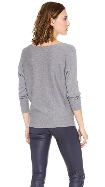 alice + olivia Cash Air Boatneck Sweater