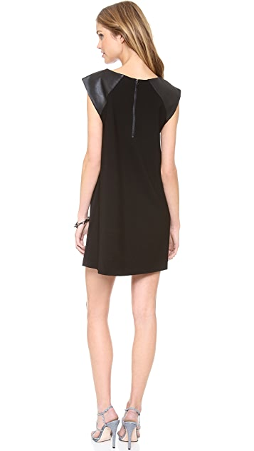 alice + olivia Patty A Line Dress