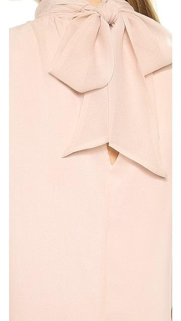 alice + olivia Rhiannon Mock Neck Dress