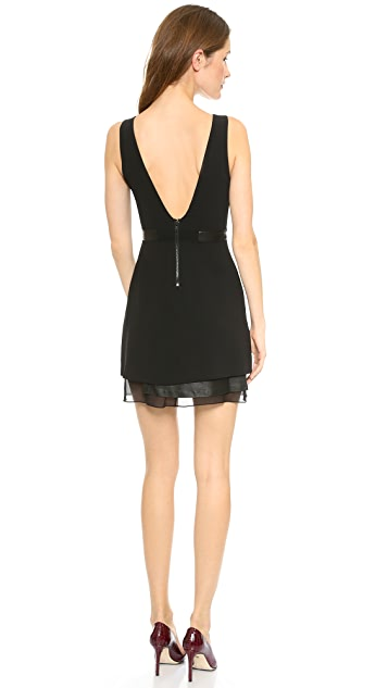 alice + olivia Brice Layered Dress
