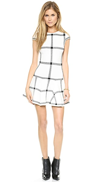 alice + olivia Selma Drop Waist Dress