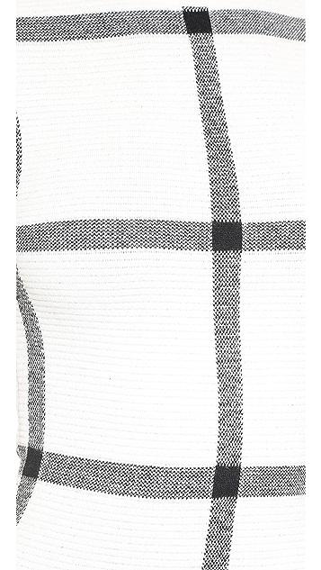alice + olivia Selma Drop Waist Dress