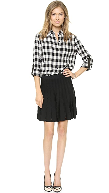 alice + olivia Chatley Sweater Skirt