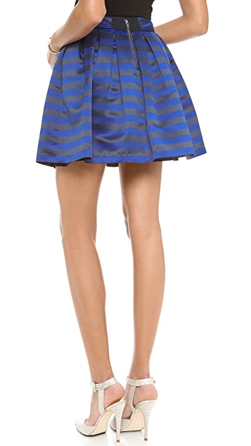 alice + olivia Box Pleat Skirt