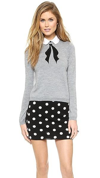 alice + olivia Ribbon Bow Sweater