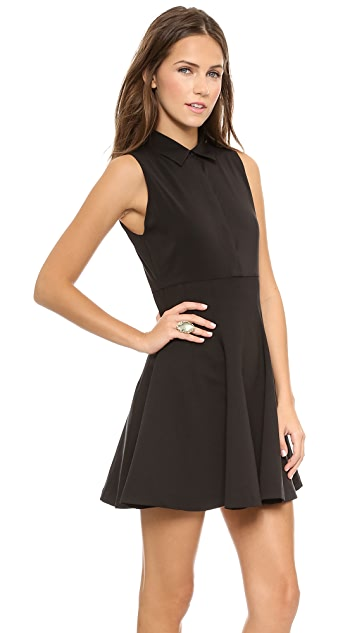 alice + olivia Sleeveless Shirtdress