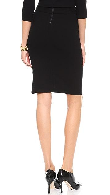 alice + olivia Long Pencil Skirt