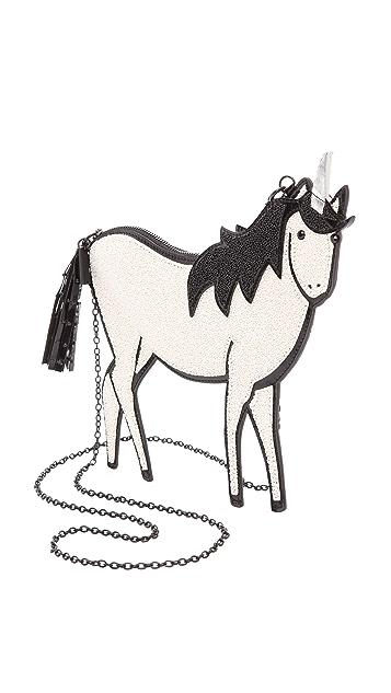 alice + olivia Unicorn Pouch