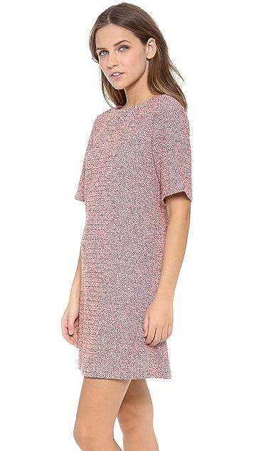 alice + olivia Boe Sleeve Shift Dress