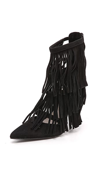 alice + olivia Jase Fringe Pumps