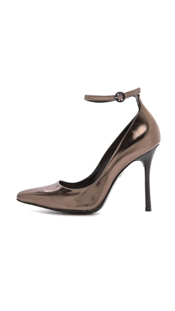 alice + olivia Dita Ankle Strap Pumps