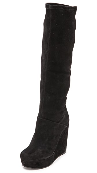 alice + olivia Yula Platform Knee High Boots
