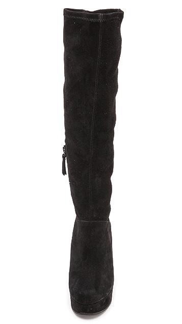 alice + olivia Yula Platform Knee High Boots