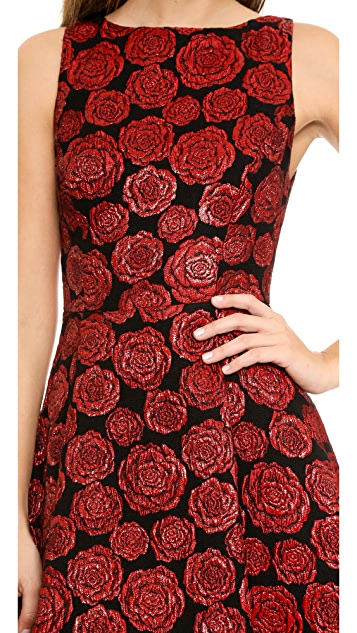 alice + olivia Bailey Flounce Dress