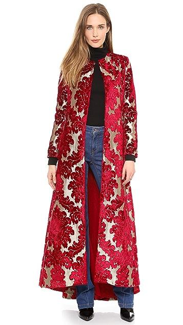 alice + olivia Queens Floor Length Coat