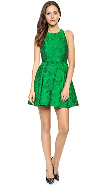 alice + olivia Tevin Racer Back Party Dress
