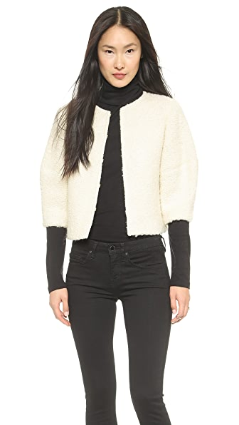 alice + olivia Dani Cropped Jacket