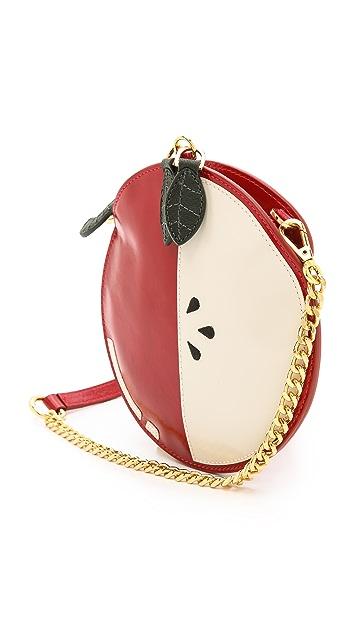 alice + olivia Apple Pouch Cross Body Bag