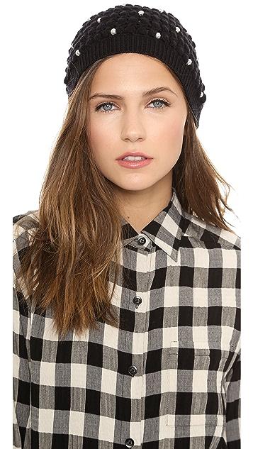 alice + olivia Imitation Pearl Hat