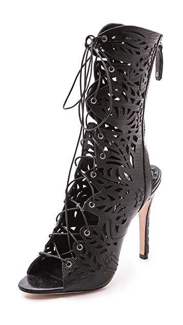 alice + olivia Georgia Lace Up Sandals