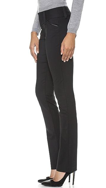 alice + olivia Olivia Wide Waistband Pants