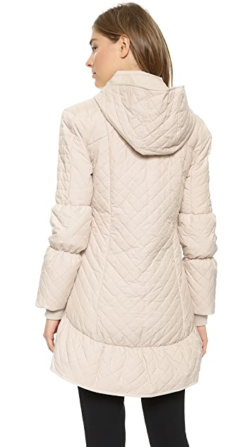 alice + olivia High Low Puffer Jacket