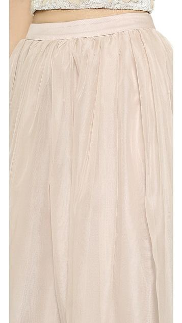 alice + olivia Abella Ball Skirt
