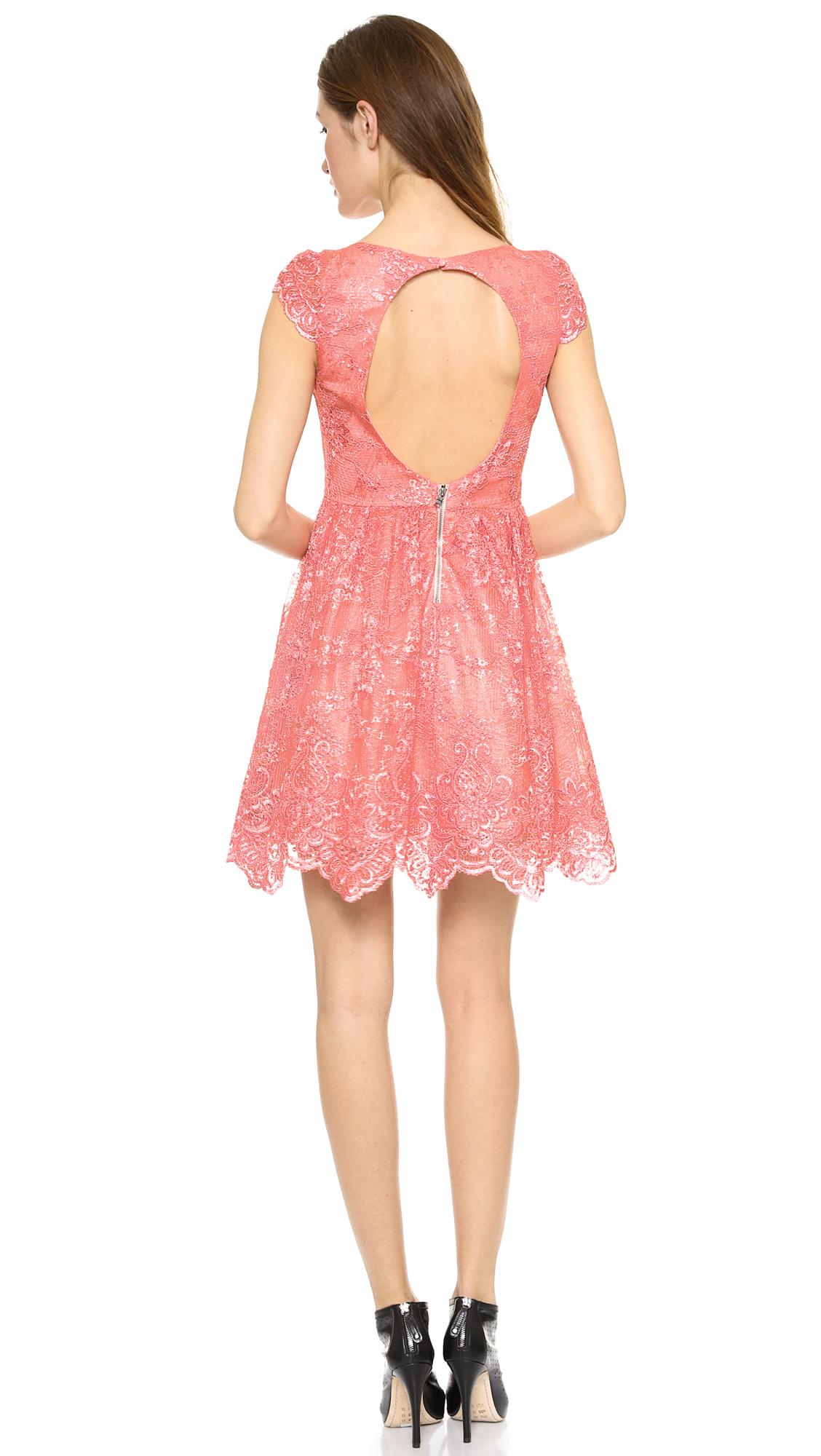 alice   olivia Zenden Lace Dress - SHOPBOP