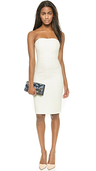 alice   olivia Nita Slim Fitted Strapless Dress  SHOPBOP