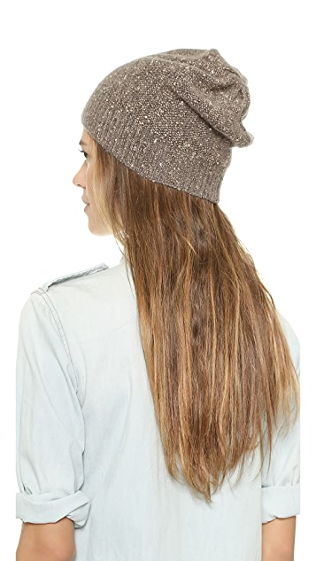 alice + olivia Sequin Knit Hat
