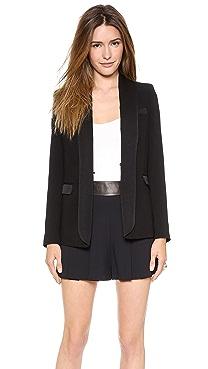 alice + olivia Long Tuxedo Blazer