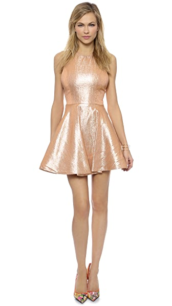 alice + olivia Lia Circle Skirt Dress