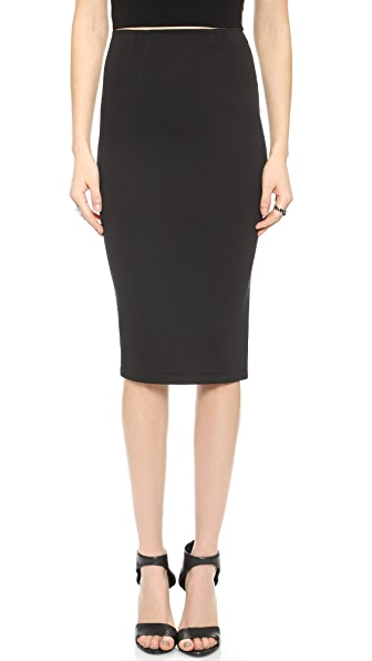 alice + olivia Super High Waist Pencil Skirt