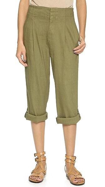alice + olivia High Waisted Roll Cuff Pants
