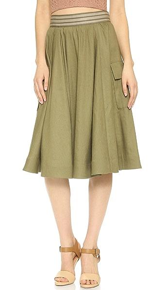 alice + olivia Jenessa Cargo Skirt