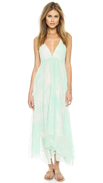 alice + olivia Adalyn Keyhole Maxi Dress