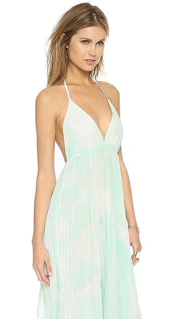 alice + olivia Adalyn Keyhole Maxi Dress