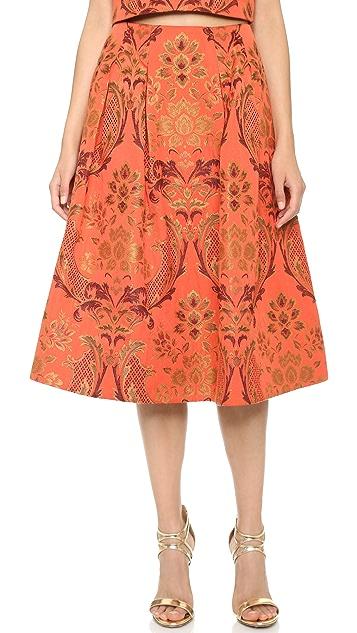 alice + olivia Luisa Lampshade Skirt