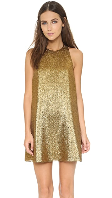 alice + olivia Harrison Flared Dress