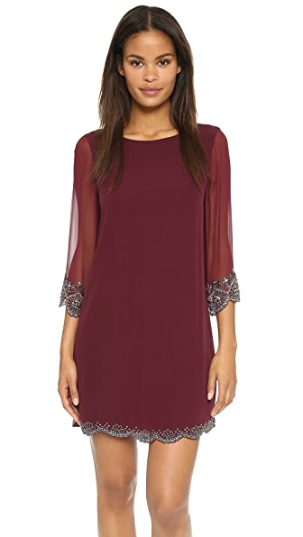 Alice + Olivia Frieda Dress - Merlot