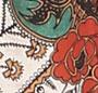 Ornate Floral/Black