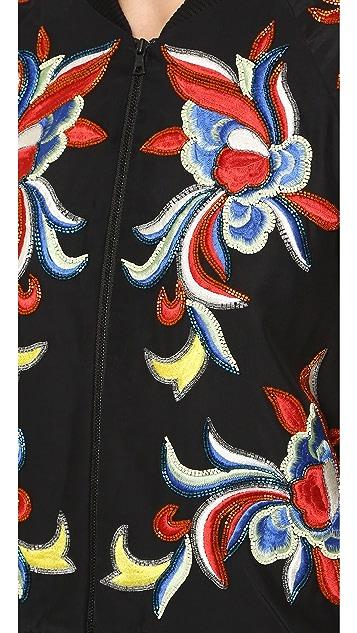 alice + olivia Felisa Embellished Jacket