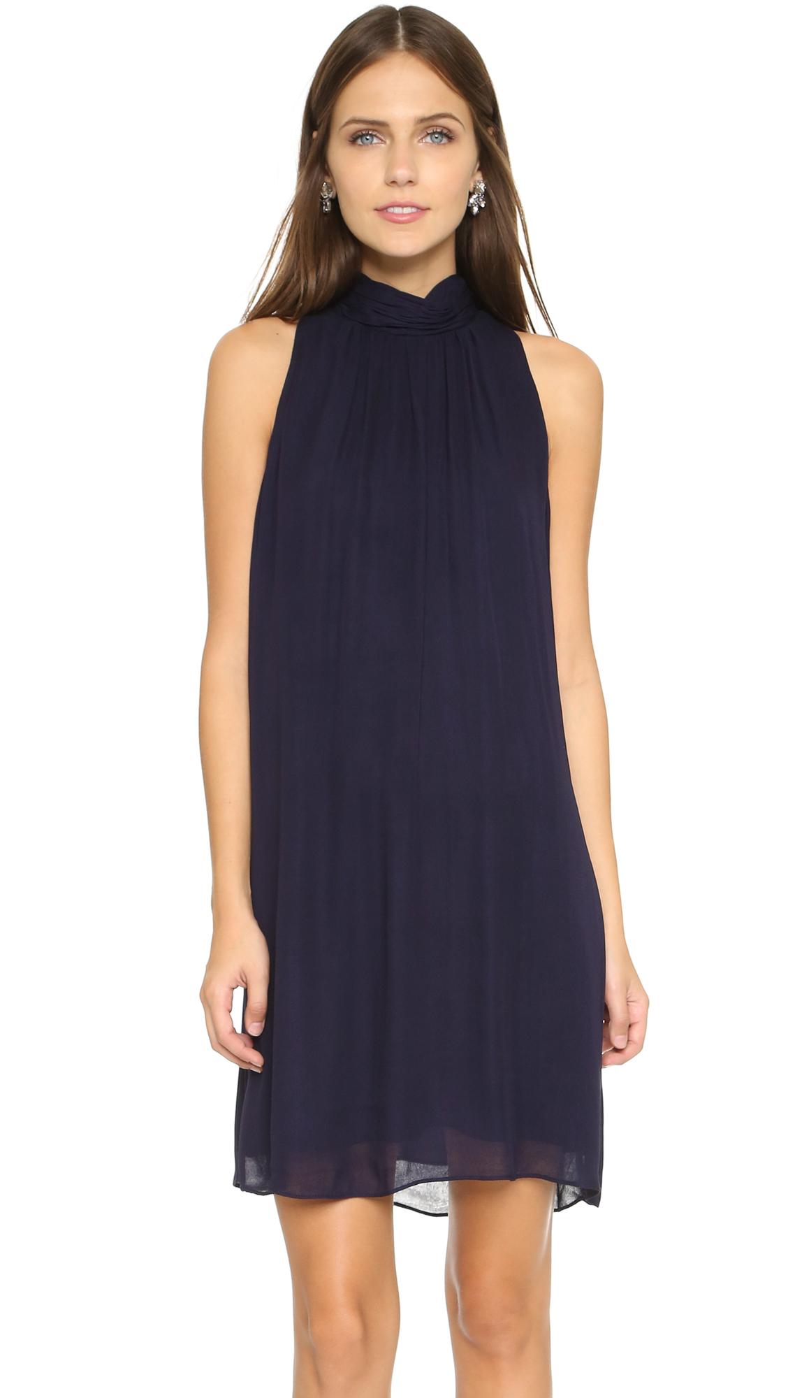 Alice + Olivia Rhiannon Dress - Navy at Shopbop