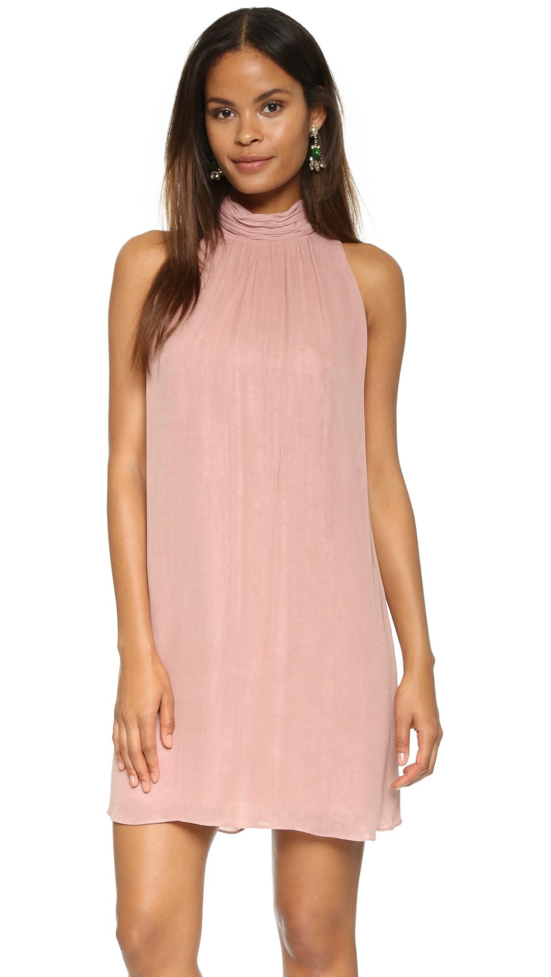 Alice + Olivia Rhiannon Dress - Pale Blush at Shopbop
