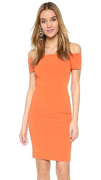 alice + olivia Облегающее платье с открытыми плечами Aleah