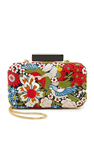 alice + olivia Secret Garden Clutch